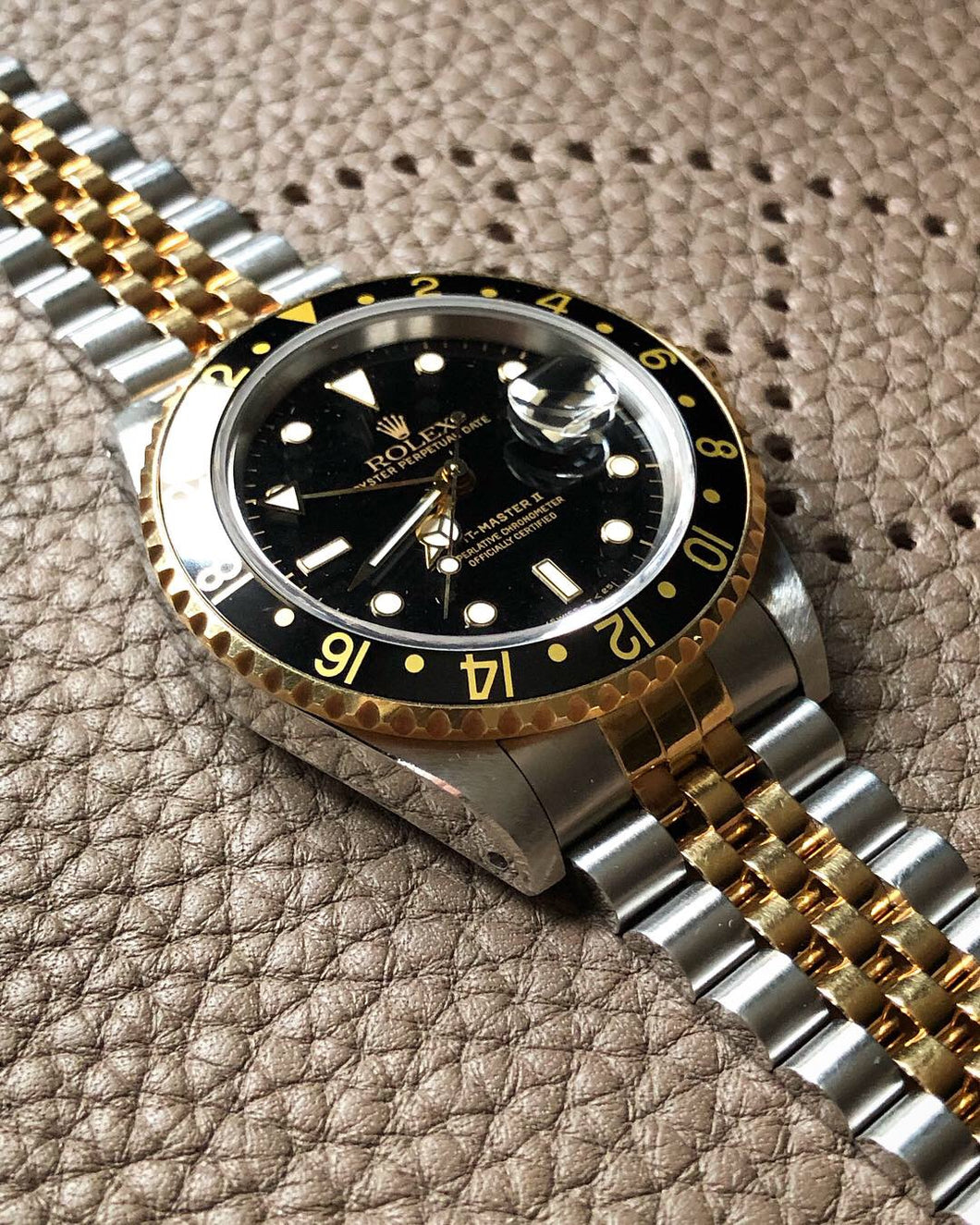 Vitnage Rolex GMT Two Tone **MINT**