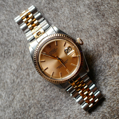 Rolex Datejust **Rare Rose Gold**