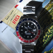 Load image into Gallery viewer, 2001 Rolex GMT Master 16710 - Box & Paper