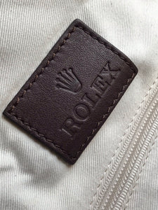 Rolex Canvas Travel Bag