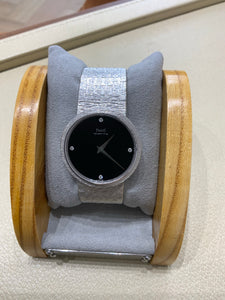 Piaget 18k White Gold with diamonds Ladies Watch
