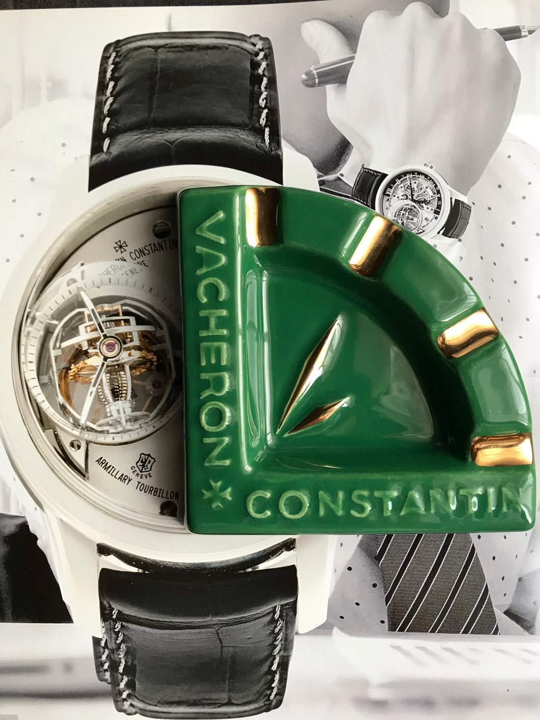 Vacheron Constantin Vintage Ashtray - Green