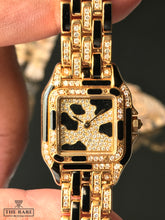 Load image into Gallery viewer, Cartier Panthere - Full Gold & Diamonds with Onyx stone
