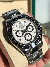 "Load image into Gallery viewer, 2019 Rolex Daytona - White Dial ""Panda"" Full set"