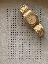 Load image into Gallery viewer, Vintage AP Ladies Royal Oak Champagne on Gold