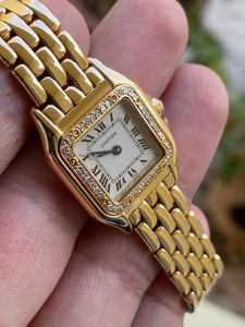 Cartier Panthere Full Gold Diamonds