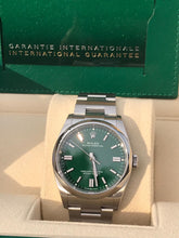 Load image into Gallery viewer, Rolex Oyster Perpetual 36mm Green