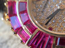 Load image into Gallery viewer, 1994 Audemars Piguet Full Ruby Baguette <High Jewelry>