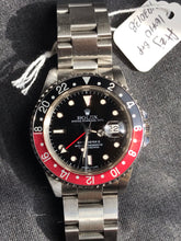 Load image into Gallery viewer, '91 Rolex GMT Master II 16710 Coke - Box & Papers