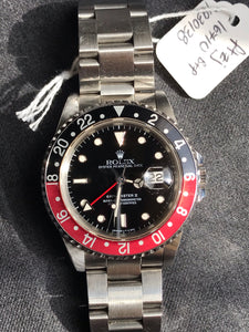 '91 Rolex GMT Master II 16710 Coke - Box & Papers