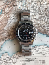 Load image into Gallery viewer, 1998 Rolex GMT Master 16700 - Full Set with extra Bezel