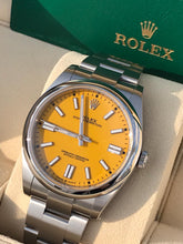 Load image into Gallery viewer, Rolex 41MM OP Yellow - Stickers
