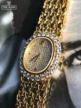 Load image into Gallery viewer, 1990 Audemars Piguet Ladies Watch - Full Gold & Diamonds