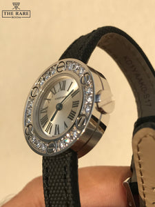 Cartier Love Watch - White Gold Full diamonds
