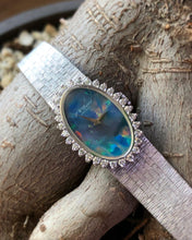 Load image into Gallery viewer, Vintage L. U. Chopard Opal White Gold Diamonds