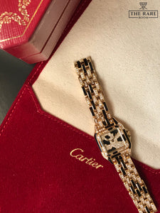 Cartier Panthere - Full Gold & Diamonds with Onyx stone