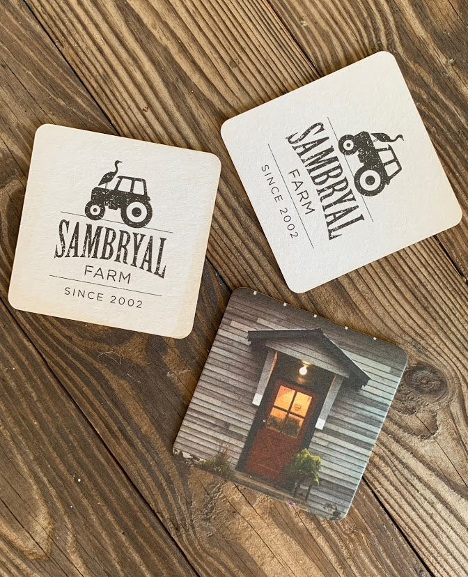 SAMBRYAL FARM COASTERS