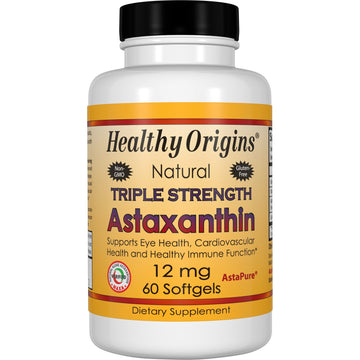Astaxanthin, Triple Strength 12mg