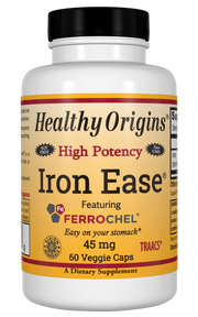 Iron Ease® (Featuring Ferrochel®), 45mg 60VCaps