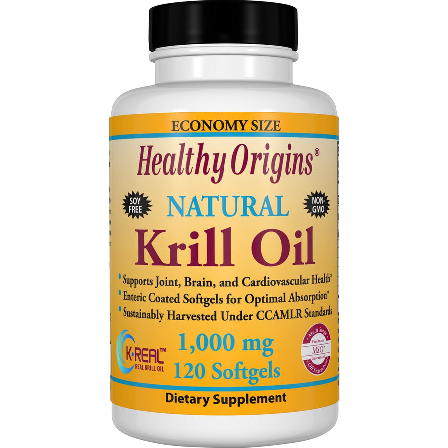 Krill Oil (K-Real™), 1000mg