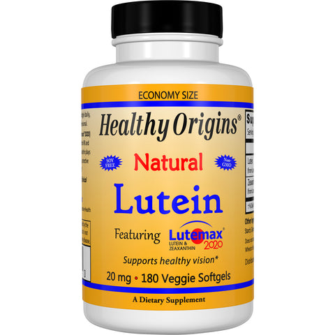 Lutein (Lutemax® 2020), 20mg 180VGels