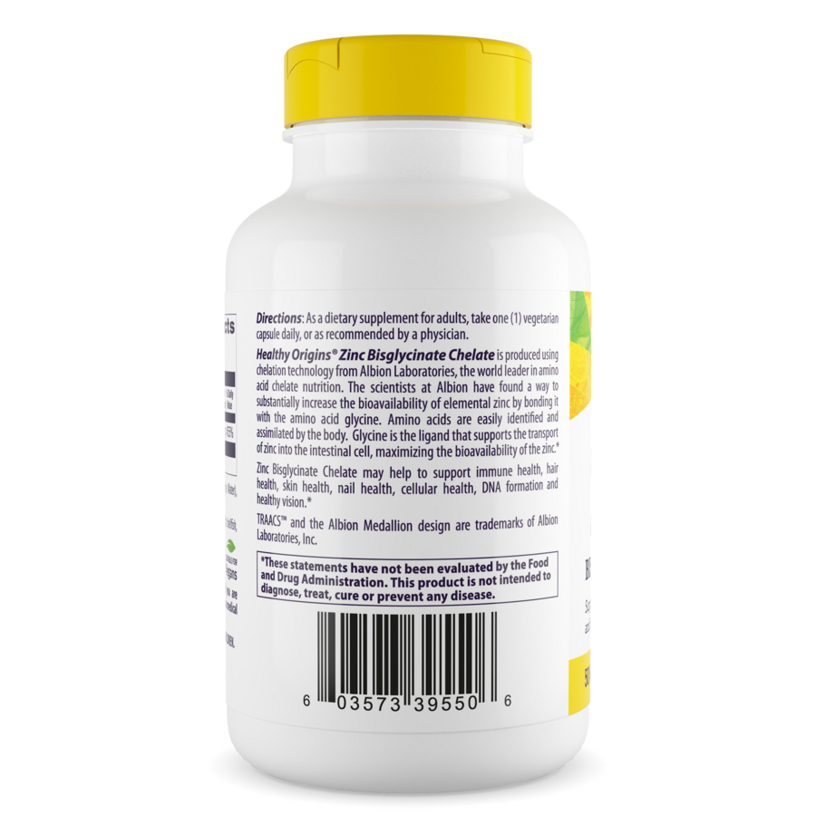 Zinc Bisglycinate Chelate 50mg