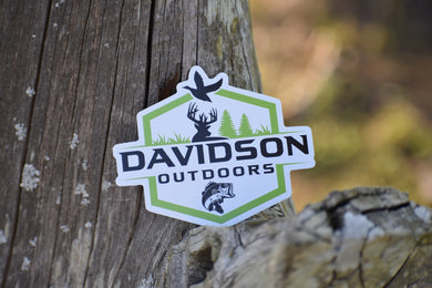Davidson Outdoors Decal