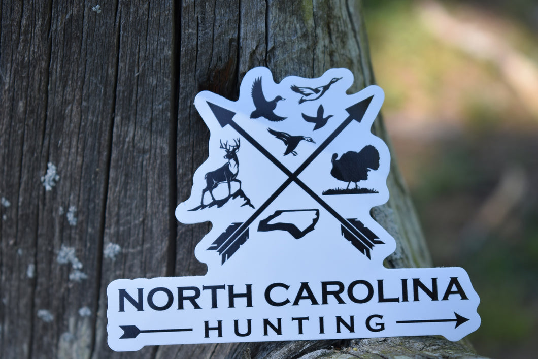 North Carolina Hunting Decal
