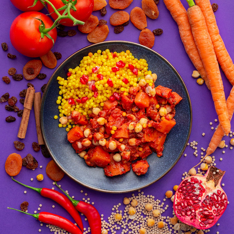 Harissa Carrot Tagine
