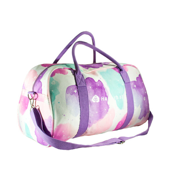 Harper Bee Weekend Duffel - Boho Watercolour