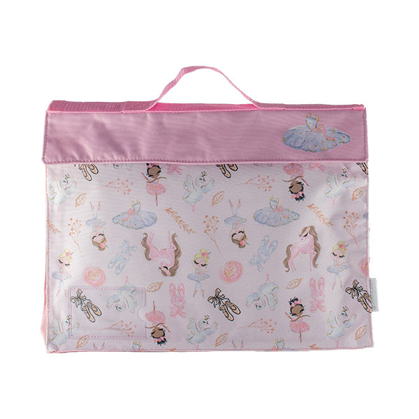 Library Bag - Pink Ballerina