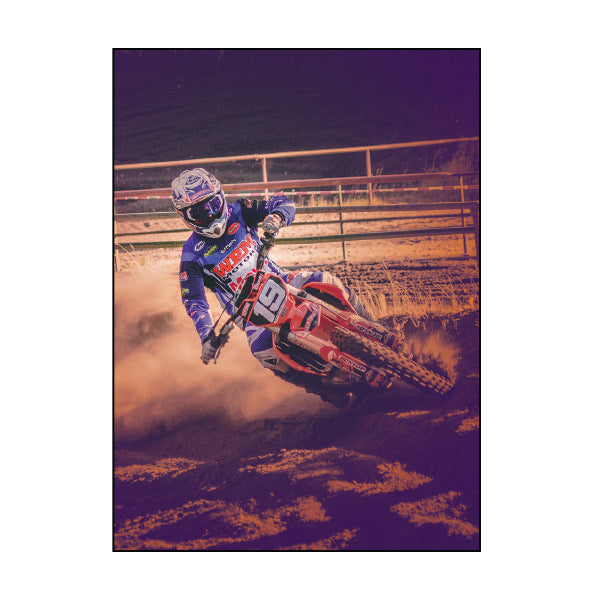 Book Cover A4 - Motocross