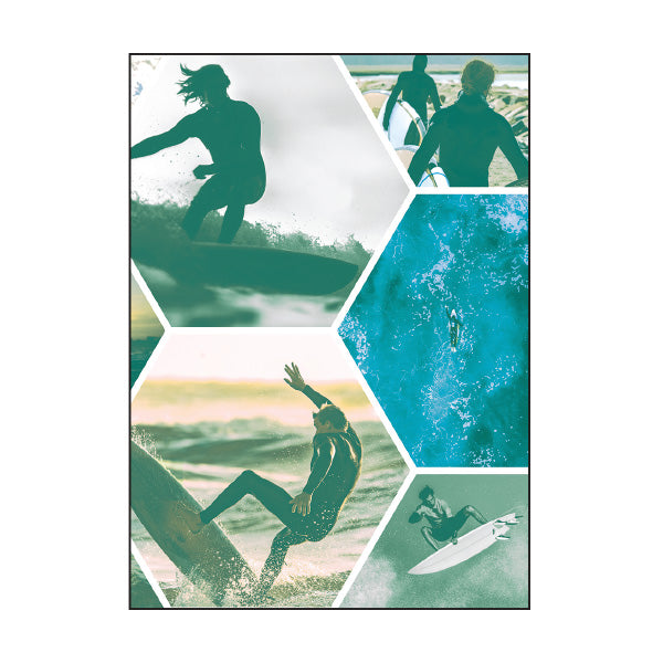 Book Cover A4 - Surfer