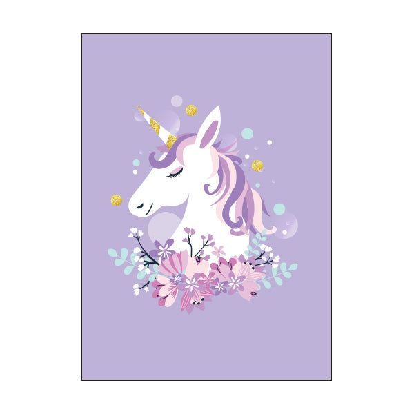 Book Cover A4 - Unicorn