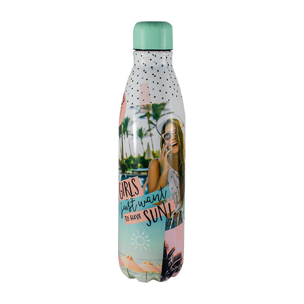 Harper Bee Stainless Steel Water Bottle - Tropical Holiday