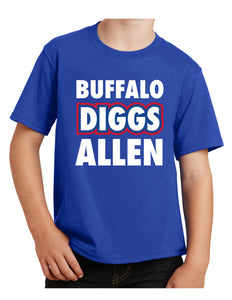 Buffalo Diggs Allen - Youth T-Shirt