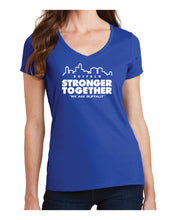 Load image into Gallery viewer, Stronger Together - Ladies V-Neck