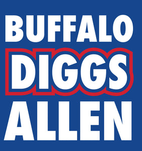 Buffalo Diggs Allen - Short Sleeve T-Shirt
