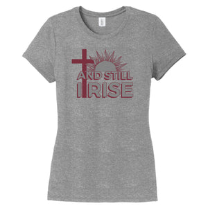 Still I Rise Ladies Short Sleeve Tee - #StillCarrie