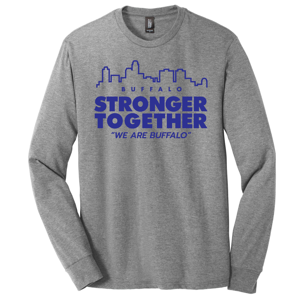 Stronger Together Long Sleeve Tee - #StillCarrie