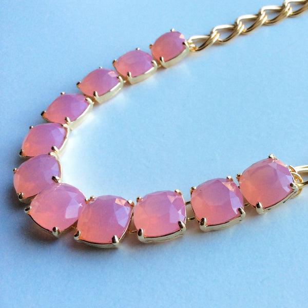 Mia Necklace - pink