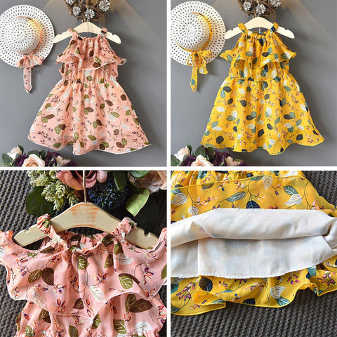 Bohemian Dress with Hat : 3-8 years