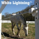 White Lightning Coated Electric Wire - Centaur Fencing