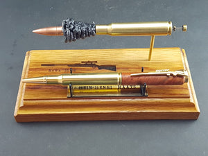 Ballistic Stand and Pen