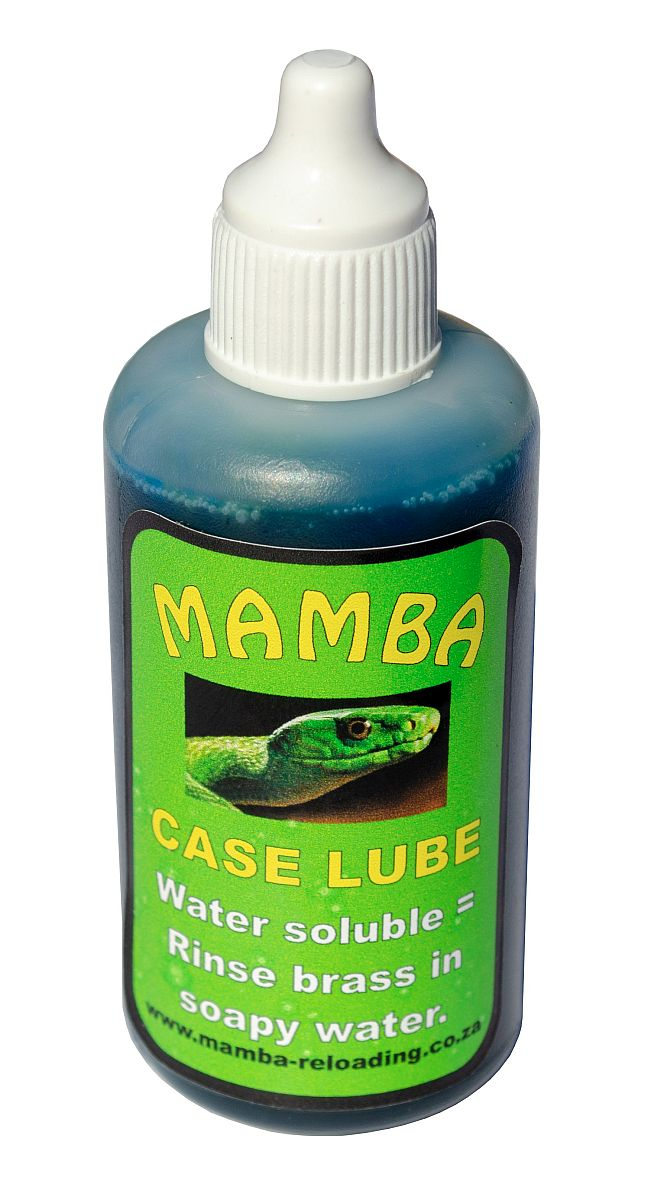 MAMBA cartridge case lube