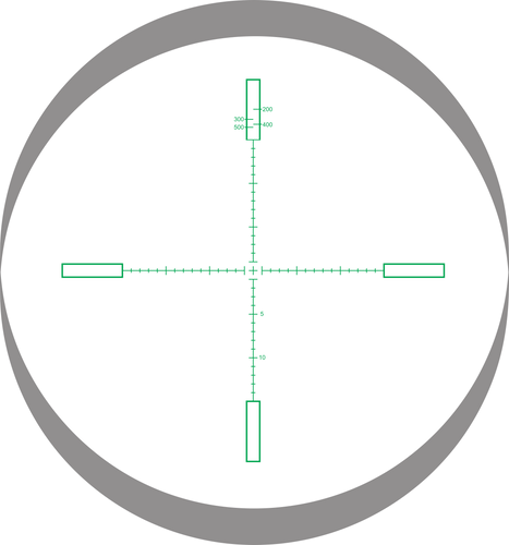 Lynx Reticle Change MOA @ 20 glass etched illuminated