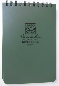 Write in the rain field notebook