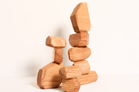 Building Boulders- Stacking and Balancing Toy