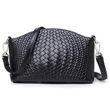 Load image into Gallery viewer, Women's Handwoven Leather Cross-body Bag