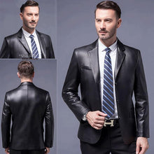 Load image into Gallery viewer, Men's Must-have Leather Jacket